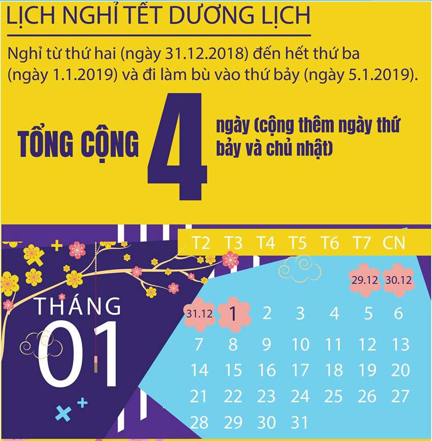Trung tâm Y tế huyện Đầm Hà thông báo lịch nghỉ Tết dương lịch 2019